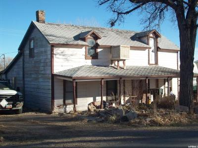 Green River UT Single Family Home For Sale: $62,000