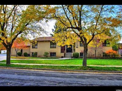 Holladay Single Family Home For Sale: 1654 E Damon Way S