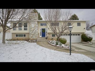 Orem Single Family Home For Sale: 1722 N 240 W