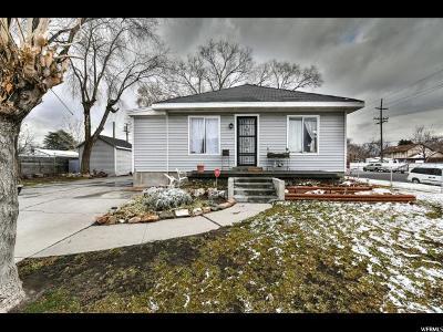 Salt Lake City UT Single Family Home For Sale: $194,900