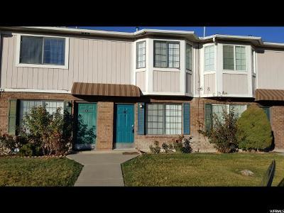 Salt Lake City UT Townhouse For Sale: $160,000
