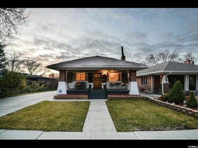 Salt Lake City Single Family Home For Sale: 940 S McClelland St E