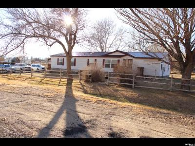 Emery UT Single Family Home For Sale: $109,000