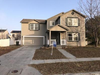 Tooele Single Family Home For Sale: 1728 N 40 St E