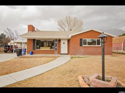 Orem Single Family Home For Sale: 175 E 400 N