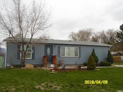 Tooele Single Family Home For Sale: 139 W 500 N