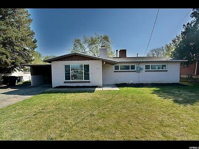 Murray Single Family Home For Sale: 542 E 4500 S