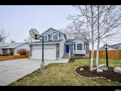 West Valley City Single Family Home For Sale: 3377 S 6290 W