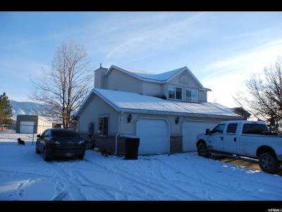 Erda Single Family Home For Sale: 884 E Bates Canyon Rd