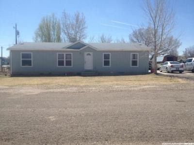 Green River UT Single Family Home For Sale: $85,000