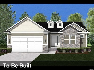 Tooele Single Family Home For Sale: 253 W Quartz Rd #527