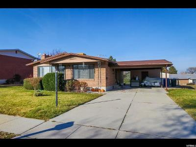 West Valley City Single Family Home For Sale: 3262 W 4630 S