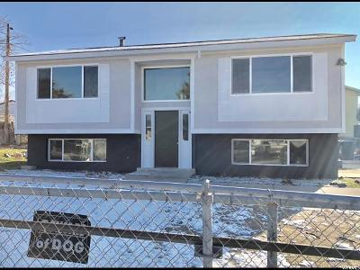 Tooele Single Family Home For Sale: 520 Valley Vw