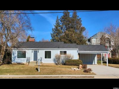 Holladay Single Family Home For Sale: 2233 E 4500 S