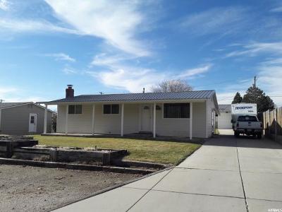 Brigham City Single Family Home For Sale: 672 S 600 E