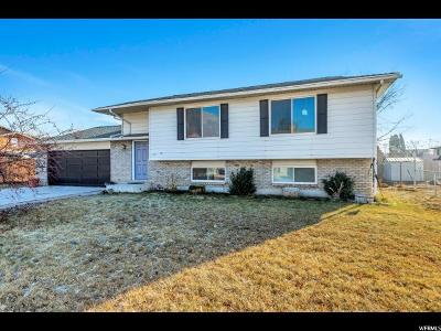 Orem Single Family Home For Sale: 1037 W 1455 N