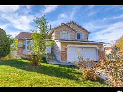 West Valley City Single Family Home For Sale: 3312 S 5530 W