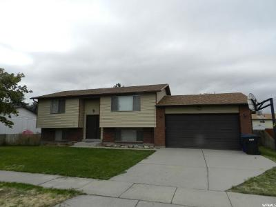 West Valley City Single Family Home For Sale: 2788 S Saris