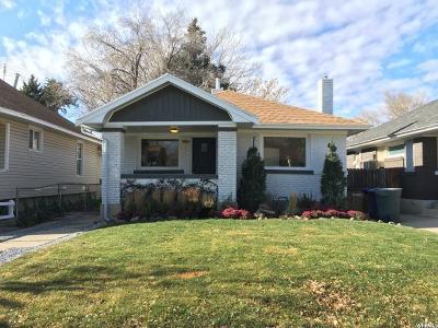Salt Lake City UT Single Family Home For Sale: $339,995