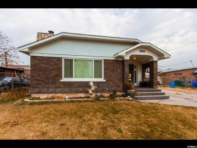 Orem Single Family Home For Sale: 560 N Monterey Dr W