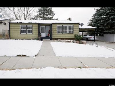 Ogden UT Single Family Home For Sale: $200,000