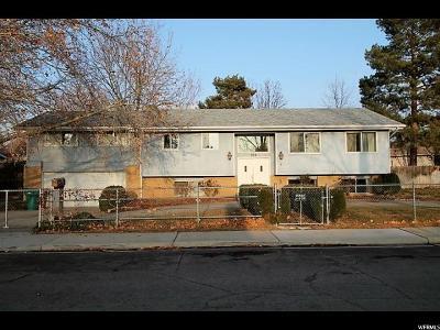 Orem Single Family Home For Sale: 758 Crest Dr
