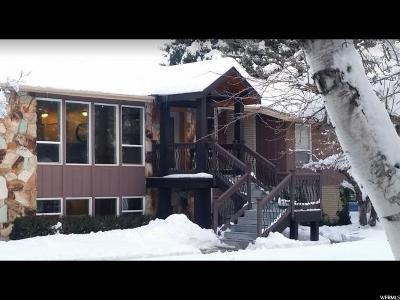 Sandy Single Family Home For Sale: 9600 S Glacier Ln E