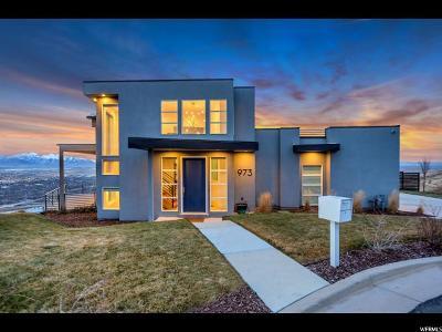 Salt Lake City Single Family Home For Sale: 973 N Churchill Dr W