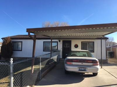 Carbon County Single Family Home For Sale: 360 S 480 W