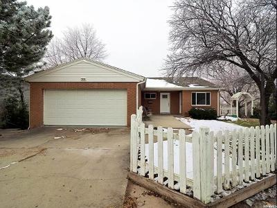 Salt Lake City Single Family Home For Sale: 1910 S Foothill Dr E