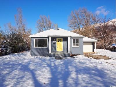 Salt Lake City Single Family Home For Sale: 3241 E Marie Ave S