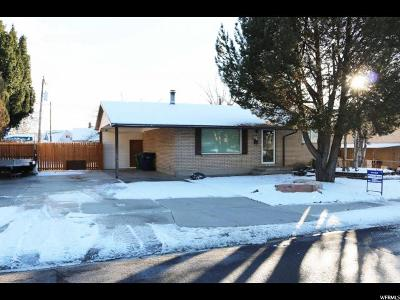 Sandy Single Family Home For Sale: 63 W 8710 S
