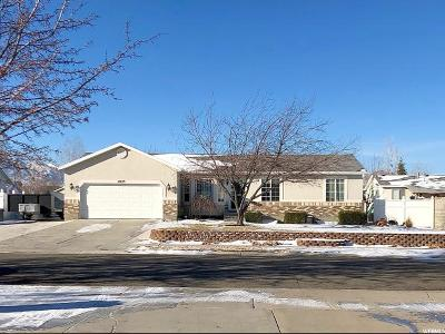 Riverton Single Family Home For Sale: 12658 S 3115 W