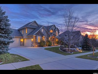 Draper Single Family Home For Sale: 1866 E Somerset Ridge Dr