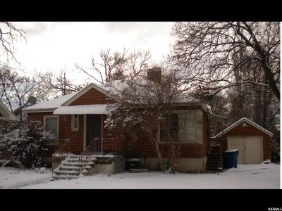 Logan Single Family Home For Sale: 222 W 200 N