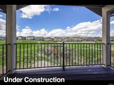 Eagle Mountain Townhouse For Sale: 3822 E Cunninghill