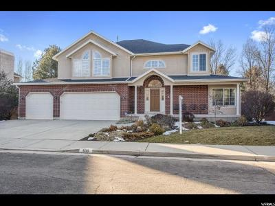Holladay Single Family Home For Sale: 6116 S Carriage Park Cir