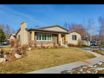 Salt Lake City Single Family Home For Sale: 1905 E St Marys Dr S