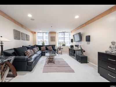 Salt Lake City Condo For Sale: 48 W Broadway N #702N