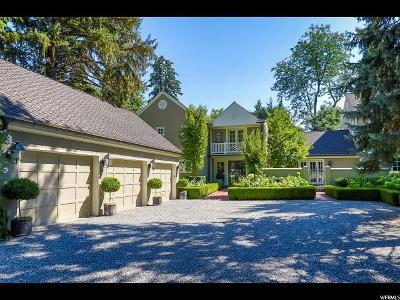 Holladay Single Family Home For Sale: 2310 E Walker Ln
