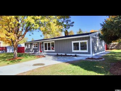Holladay Single Family Home For Sale: 4951 Westmoor Rd