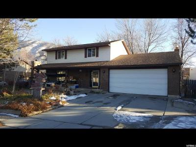 Sandy Single Family Home For Sale: 1602 E Hidden Valley Rd S