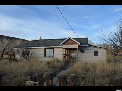 Emery UT Single Family Home For Sale: $12,500