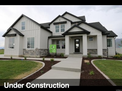 Saratoga Springs Single Family Home For Sale: 2127 S Cameron Dr #1808