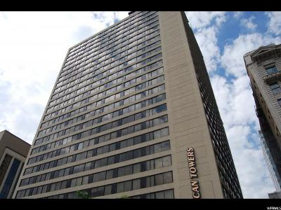Salt Lake City Condo For Sale: 44 W 300 S #1105 S