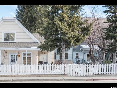 Park City Single Family Home For Sale: 1274 Park Ave