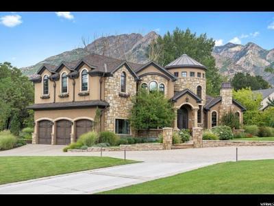 Holladay Single Family Home For Sale: 2412 E Oakcrest Ln S
