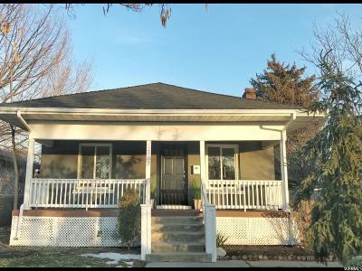 Salt Lake City Single Family Home For Sale: 1363 S 200 E