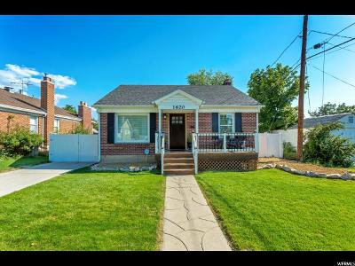 Salt Lake City UT Single Family Home For Sale: $479,900