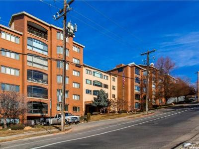 Salt Lake City Condo For Sale: 171 E 3rd Ave N #515